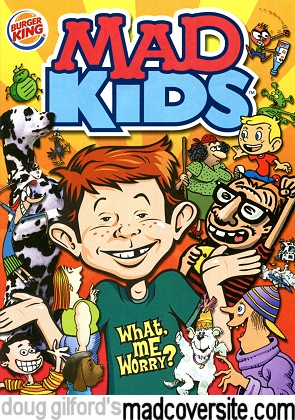 Doug Gilford S Mad Cover Site Mad Kids Burger King